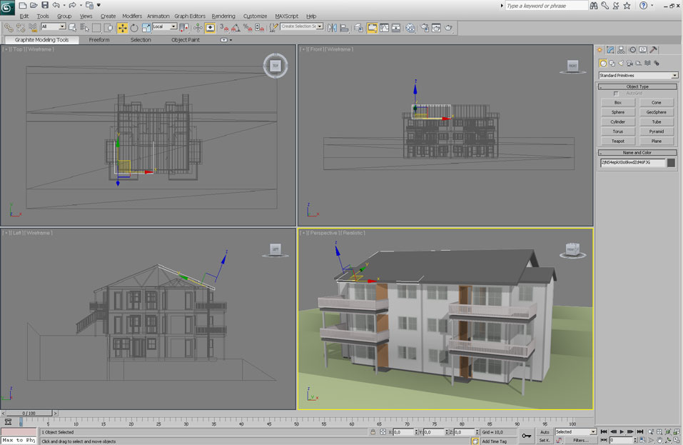 Screenshot of 3ds Max running the plug-in